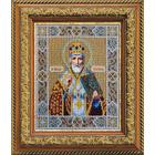 Набор для вышивания бисером Паутинка Б-1005 «Св. Николай Чудотворец» 20*24 см