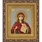 Набор для вышивания бисером Паутинка Б-1007 «Св. Мученица Наталия» 20*25 см