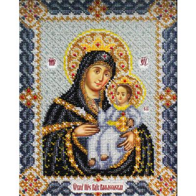 Набор для вышивания бисером Паутинка Б-1017 «Богородица Вифлеемская» 20*25 см в интернет-магазине Швейпрофи.рф
