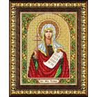 Набор для вышивания бисером Паутинка Б-1022 «Св. Мученица Татьяна» 20*25 см