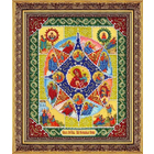 Набор для вышивания бисером Паутинка Б-1041 «Пр. Богородица Неопалимая Купина» 20*25 см