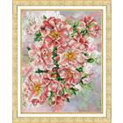 Набор для вышивания бисером Паутинка Б-1205 «Садовые розы» 28,5*36 см