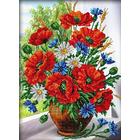 Набор для вышивания бисером Паутинка Б-1235 «Любимые цветы» 28*38 см