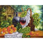 Набор для вышивания бисером Паутинка Б-1270 «Натюрморт с вином» 36*28 см