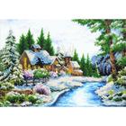 Набор для вышивания бисером Паутинка Б-1407 «Очарование зимы» 39*28 см