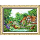 Набор для вышивания бисером Паутинка Б-1408 «Очарование лета» 39*28 см