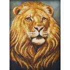 Набор для вышивания бисером Паутинка Б-1420 «Лев» 39*28 см