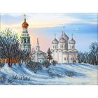 Набор для вышивания бисером Паутинка Б-1445 «Вологодская церковь» 28*38 см