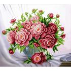 Набор для вышивания бисером ЧМ Б0751 «Розовые пионы» 37*32 см