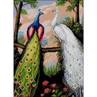 Набор для вышивания Гелиос АА-019 «Павлины» 30*40 см