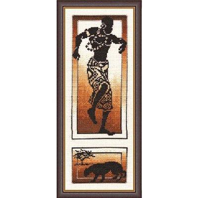 Набор для вышивания Золотое руно АИ-004 «Танец силы» 14*37 см в интернет-магазине Швейпрофи.рф