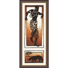 Набор для вышивания Золотое руно АИ-004 «Танец силы» 14*37 см