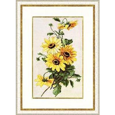 Набор для вышивания Золотое руно БР-014 «Солнечные цветы» (снят) 23,2*36,3 см в интернет-магазине Швейпрофи.рф