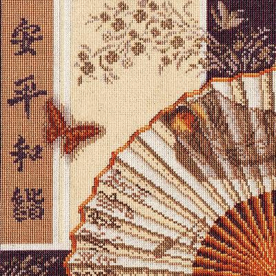 Набор для вышивания Золотое руно ВВ-001 «Гармония в спокойствии» 23.5*23,5 см в интернет-магазине Швейпрофи.рф