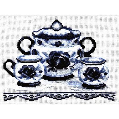 Набор для вышивания Золотое руно ВГ-003 «Чайный сервиз» 13*18 см в интернет-магазине Швейпрофи.рф