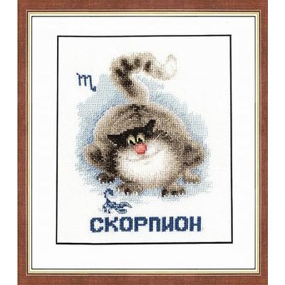 Набор для вышивания Золотое руно ВЛ-008 «Знаки зодиака. Скорпион» 11,5*14,8 см в интернет-магазине Швейпрофи.рф
