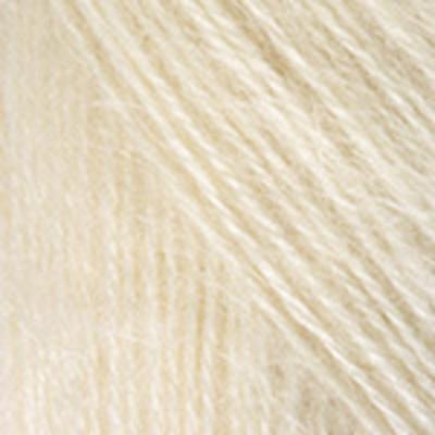 Пряжа Ангора де люкс (Angora De Luxe), 100 г/ 520 м, 00502 молочный в интернет-магазине Швейпрофи.рф