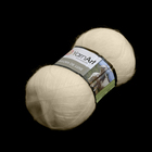 Пряжа Ангора де люкс (Angora De Luxe), 100 г/ 520 м, 00502 молочный
