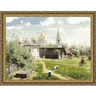 Набор для вышивания Золотое руно ПФ-010 «Московский дворик» 69,8*52,3 см