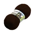 Пряжа Ангора де люкс (Angora De Luxe), 100 г/ 520 м, 03067 коричневый