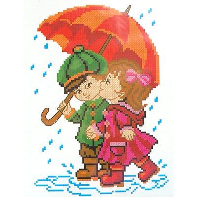 Набор для вышивания Искусница №102 «Под одним зонтом» в интернет-магазине Швейпрофи.рф