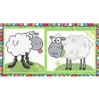 Набор для вышивания Искусница №2021 «Забавные овечки» (снят) 14*17 и 17*18 см