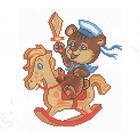 Набор для вышивания Искусница №2024 «Всегда на коне» 16*19 см