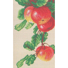 Набор для вышивания Искусница №556 «Спелые яблоки» 19*32 см