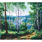 Набор для вышивания К. (27*35 см) 0222 «Дорога к реке» 27*35 см