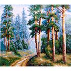 Набор для вышивания К. (40*50 см) 0137 «Сосновый бор» 40*50 см