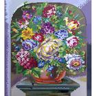 Набор для вышивания К. (40*50 см) 0162 «Букет цветов» 40*50 см