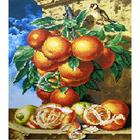 Набор для вышивания К. (40*50 см) 0214 «Натюрморт с апельсинами» 40*50 см