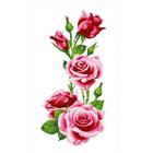 Набор для вышивания Каролинка КТКН-128(р) Розы 37*64 см