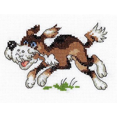 Набор для вышивания Кларт 3-044 «Собачка» 13*9 см в интернет-магазине Швейпрофи.рф