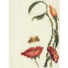 Набор для вышивания Кларт 6-064 «Лицо-цветы»