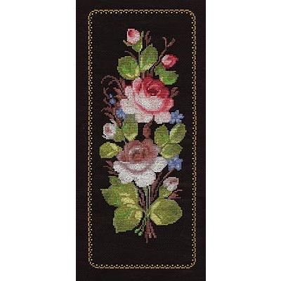 Набор для вышивания Кларт 8-050 «Жостовские розы» 16,5*38,5 см в интернет-магазине Швейпрофи.рф