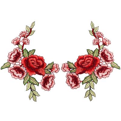 Аппликация пришивная А5 «Цветок» вышитая в интернет-магазине Швейпрофи.рф