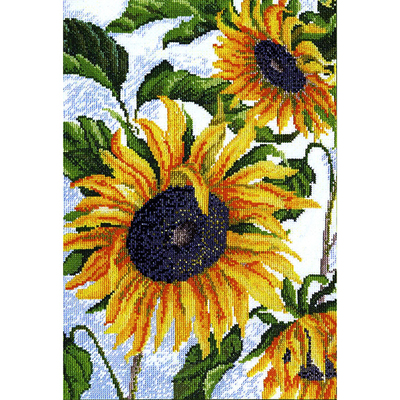 Набор для вышивания М.Искусница 04.002.03 «Как солнышко» 25*36 см в интернет-магазине Швейпрофи.рф