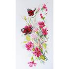 Набор для вышивания М.Искусница 04.011.02 «Цветы и бабочки»