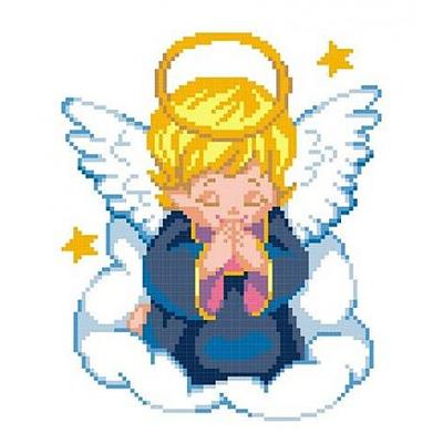 Набор для вышивания М.П.Студия КH-383 «Ангелок» 16*20 см в интернет-магазине Швейпрофи.рф