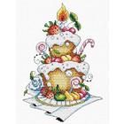 Набор для вышивания М.П.Студия М-048 «Фруктовый десерт» 16*26 см