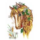 Набор для вышивания М.П.Студия НВ-198 «Лошадка-кокетка» 22*32 см