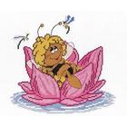 Набор для вышивания М.П.Студия НВ-204 «Пчелка» 22*24 см