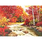 Набор для вышивания М.П.Студия НВ-258 «Пора ярких красок» 40*30 см