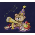 Набор для вышивания М.П.Студия НВ-360 «Мишка-астроном» 25*30 см