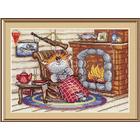 Набор для вышивания М.П.Студия НВ-521 «Уютный вечер» 24*17 см