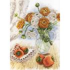 Набор для вышивания М.П.Студия НВ-597 «Букет садовых лютиков» 29*21 см