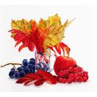 Набор для вышивания М.П.Студия НВ-603 «Цвета осени» 26*22 см