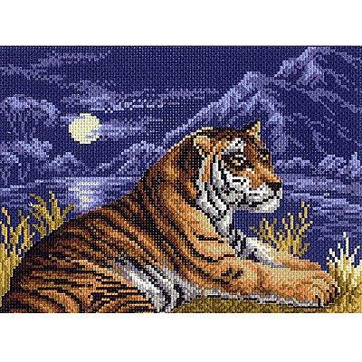 Набор для вышивания Матренин Посад 0014/БН «Тигр» (снят) в интернет-магазине Швейпрофи.рф