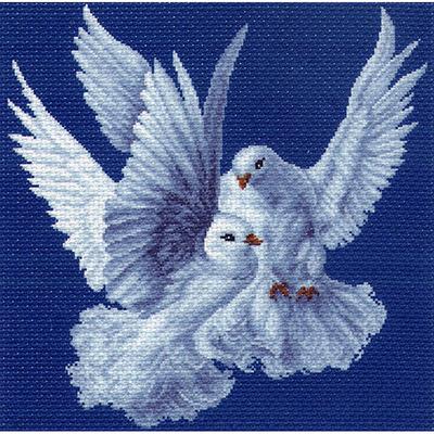 Набор для вышивания Матренин Посад 1100/Н «Нежность» 41*41 см в интернет-магазине Швейпрофи.рф